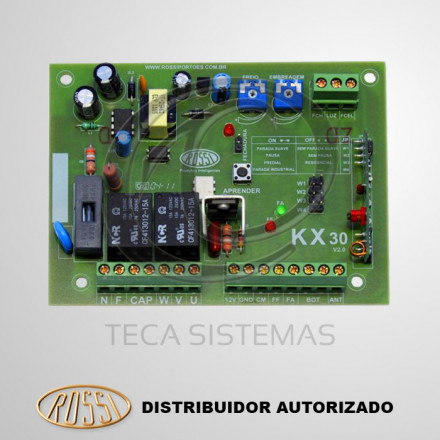 Placa Central de Comando KX30 Rossi