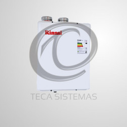 Aquecedor a gás digital de 42,5/43 litros REU 3201 FFA-BE - RINNAI