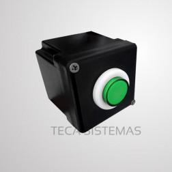 Botoeira de Alto Fluxo botão Verde - MKN