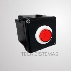 Botoeira Sem Fio de Alto Fluxo botão Vermelho - MKN
