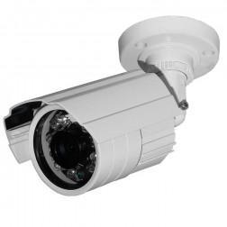 Câmera Infravermelho de 25 Metros 24 Leds Day Night AHD 720 Pixels - TECASISTEMAS