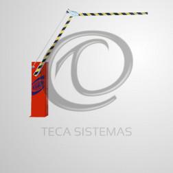 Cancela Automática Braço Articulado 6 Metros 220V - ROSSI