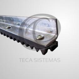 Cremalheira de Alumínio Chapa Grossa M4 de 0,5 Metro