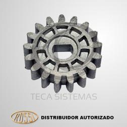 Engrenagem de Tração 17 Dentes do DZ ATTO, DZ Nano Turbo, DZ3 Turbo ou DZ4 Turbo - ROSSI