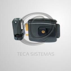 Fechadura Elétrica Cinza 12V (Abertura Interna) - AGL