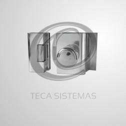 Fechadura Elétrica para Porta de Vidro de 2 Folhas - AGL