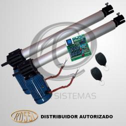 Kit Motor Pivotante Industrial Aletado Duplo PL4 0,5m 220V - Rossi