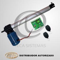 Kit Motor Pivotante Industrial Aletado Simples PL4 0,5m 220V - Rossi
