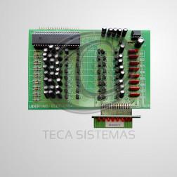 Placa de Ramal 08 Pontos LR 3008 para Central Digital VEGA - LIDER