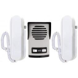 Interfone Porteiro Coletivo 02 Pontos - AGL